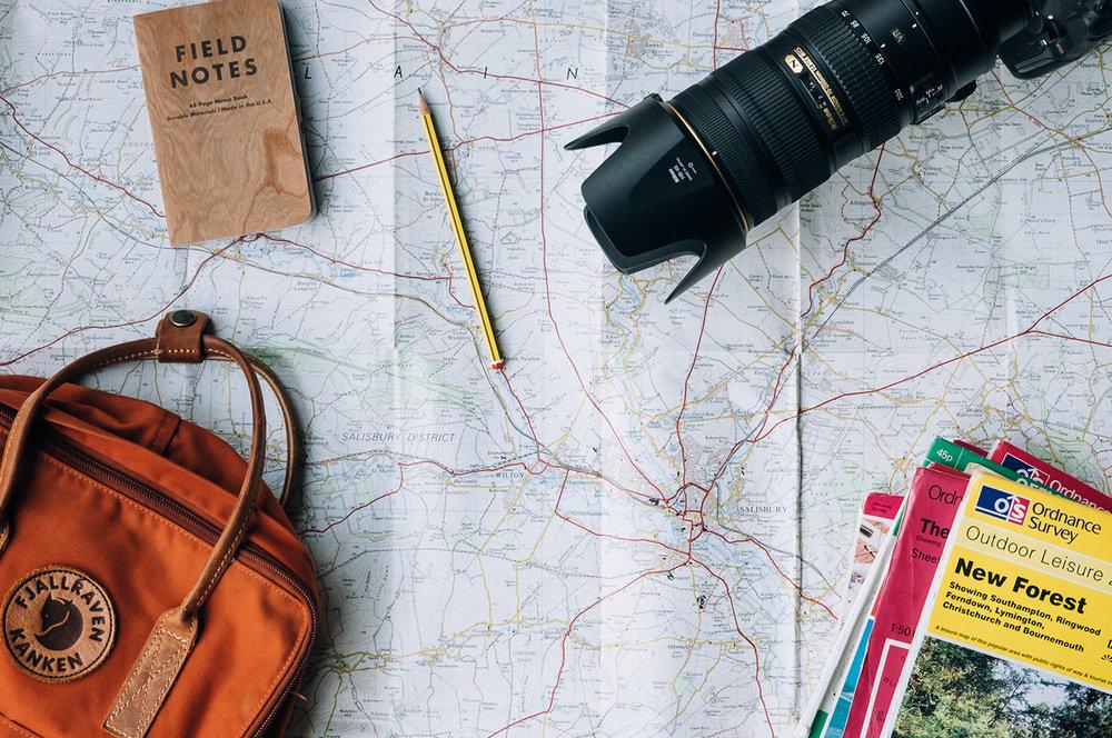 Meine Backpacker Packliste für Reisen mit Handgepäck