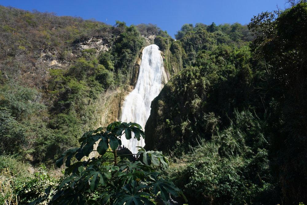 El Chiflon Wasserfall Mexiko
