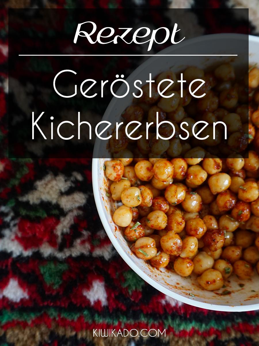 Geröstete Kichererbsen Snack Rezept Pinterest