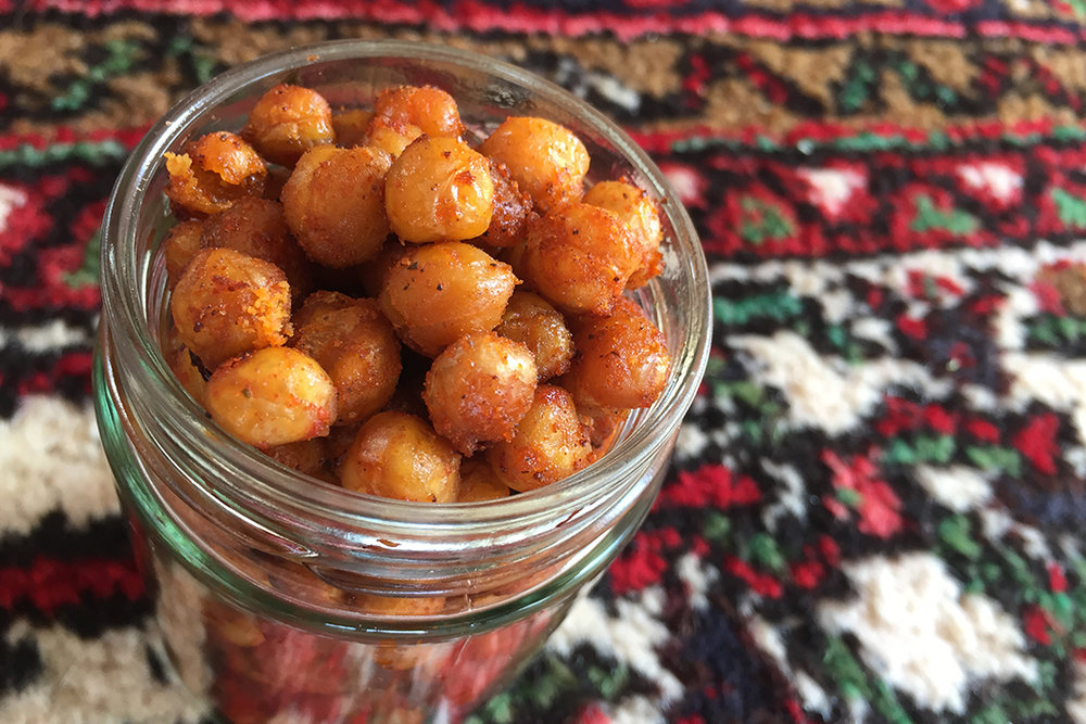 Kichererbsen Snack Rezept