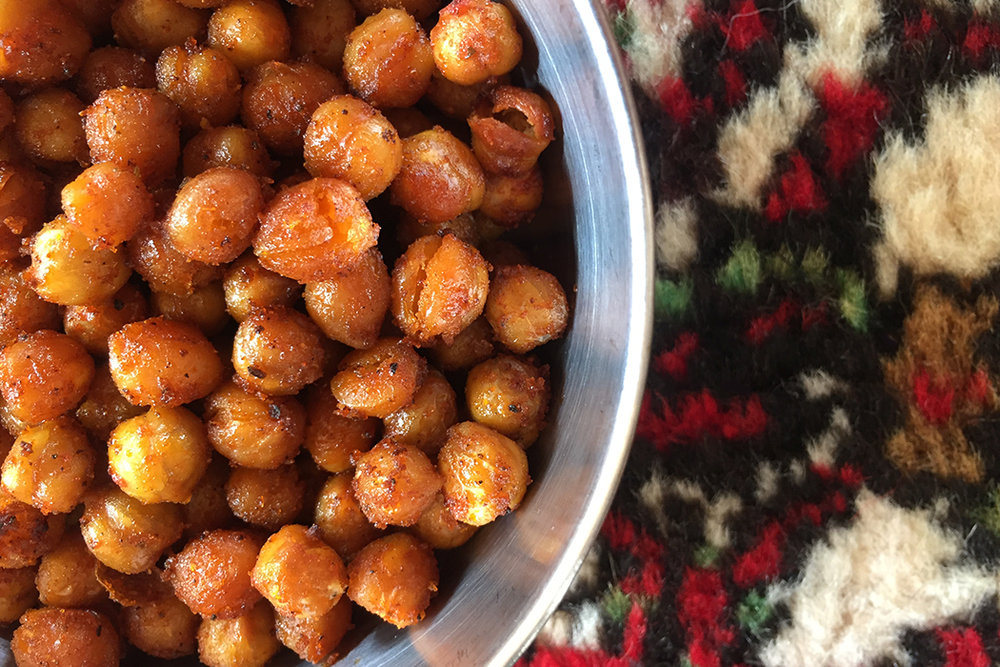 Schnelles Kichererbsen Snack Rezept