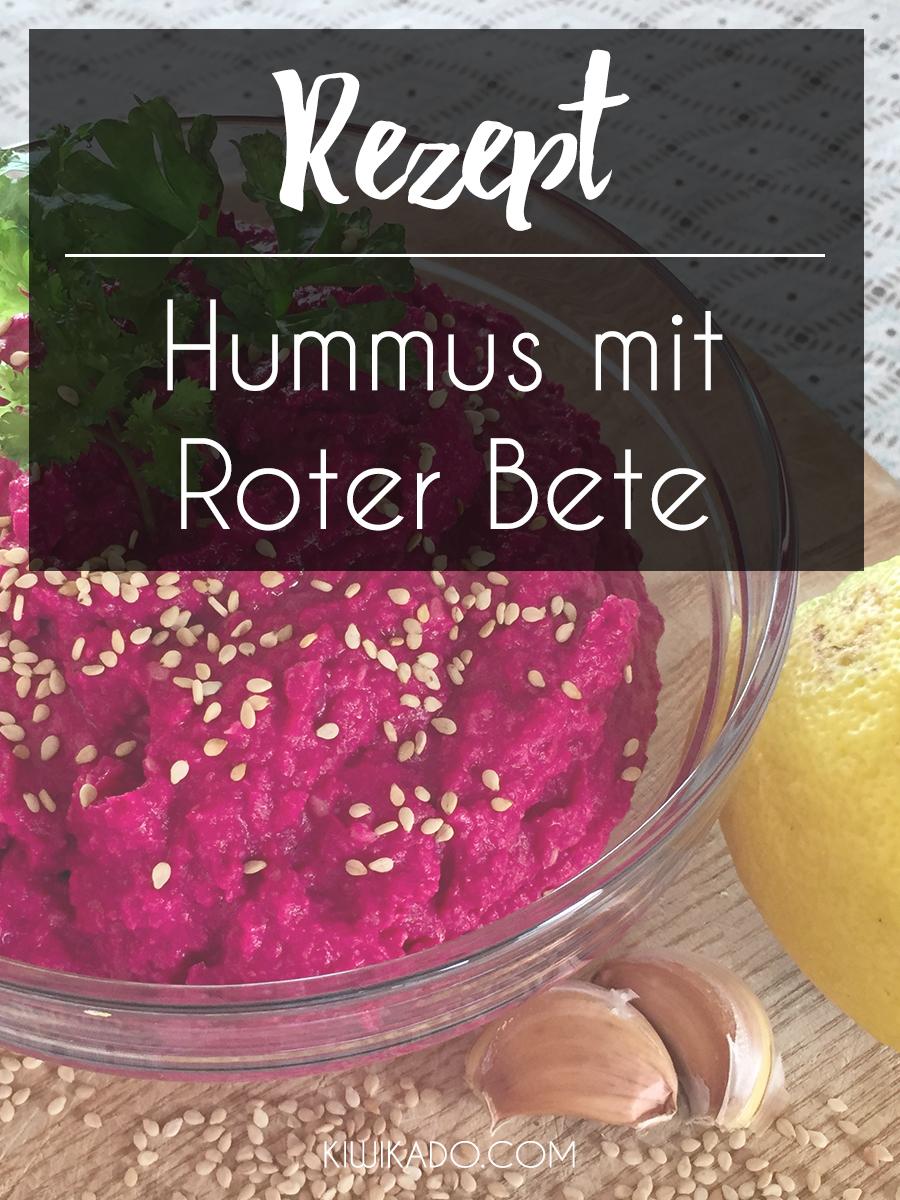 Hummus mit Roter Bete Pinterest
