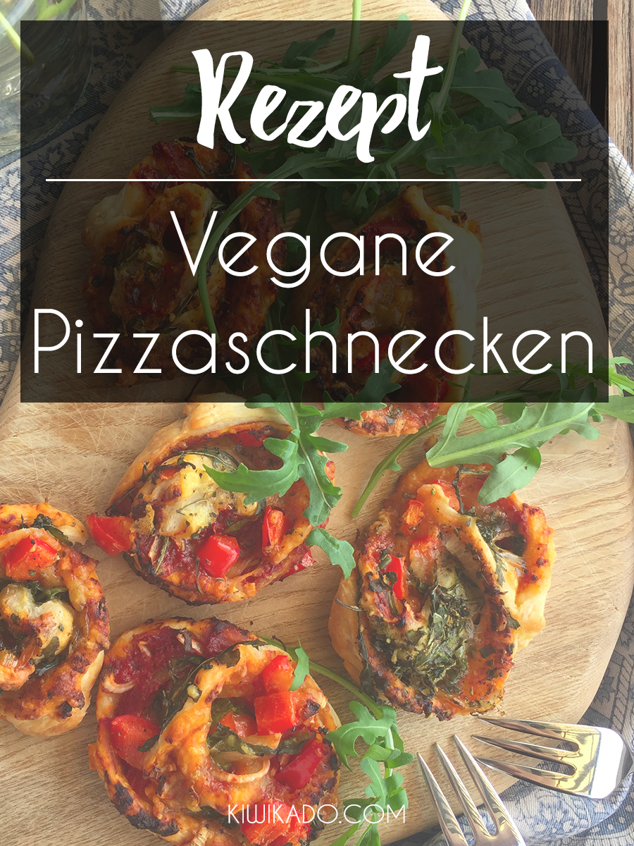 Vegane Pizzaschnecken Pinterest