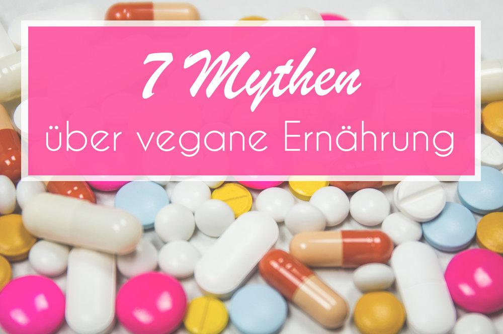 7 Mythen über vegane Ernährung