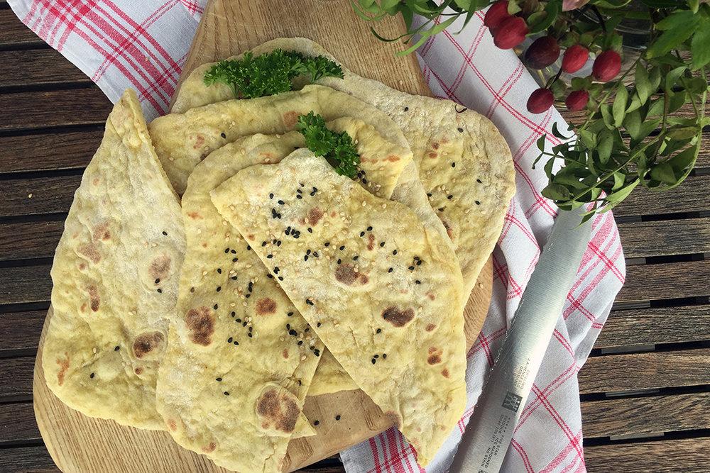 Naan Brot Rezept 1