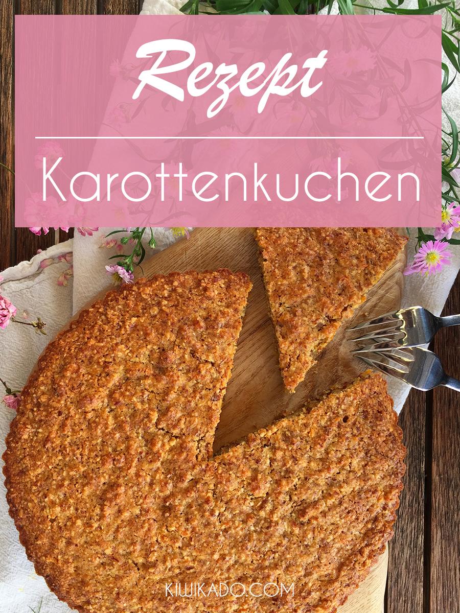 Veganer Karottenkuchen Rezept Pinterest