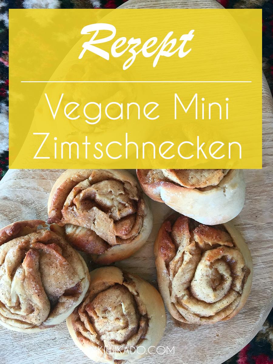 Vegane Mini Zimtschnecken Pinterest