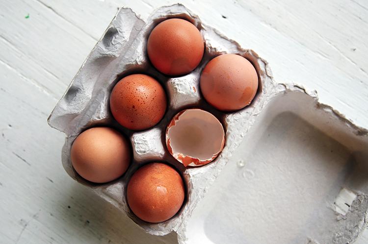 Eier ersetzen Vegan