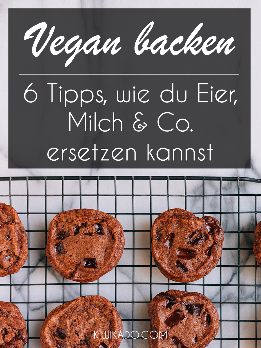 Vegan backen Tipps Pinterest