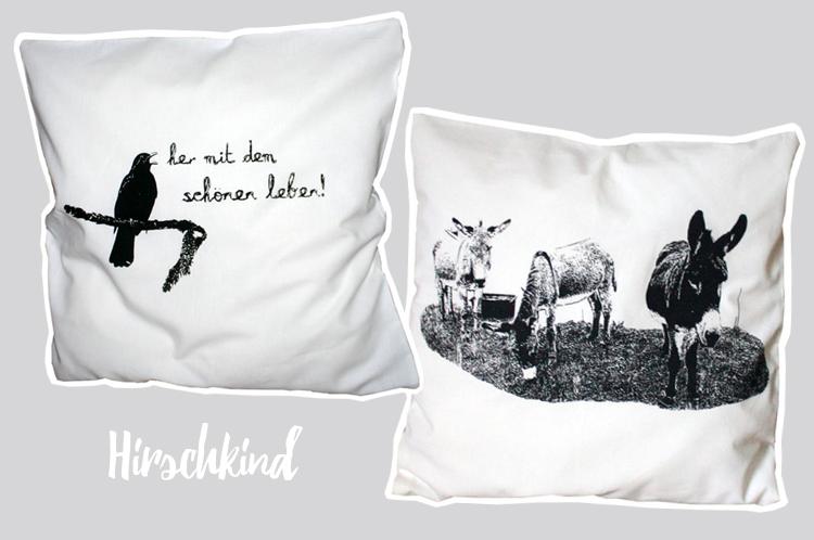 Hirschkind Bettwäsche & Kissen aus BIO-Baumwolle