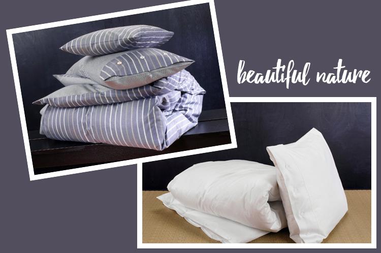 beautiful nature Bettwäsche aus nachwachsenden Rohstoffen