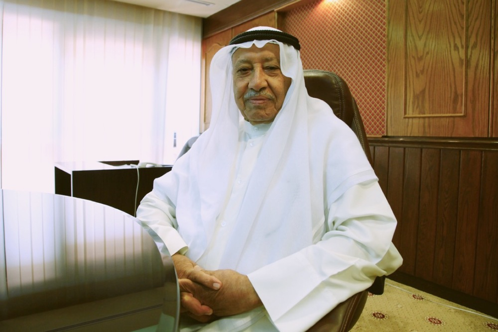 Professor Jassim Al-Hassan, Dean of the Faculty of Science and Director of the Marine Science Center at Kuwait University.