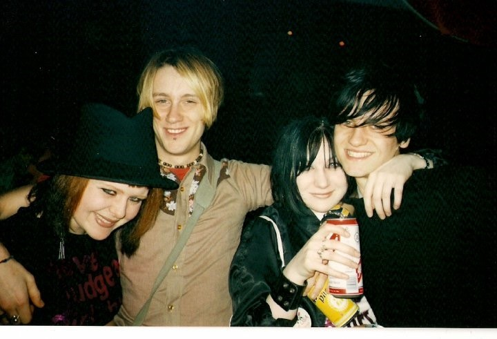 Popstarz in 2000: Rachel, me, Lisa and Daniel