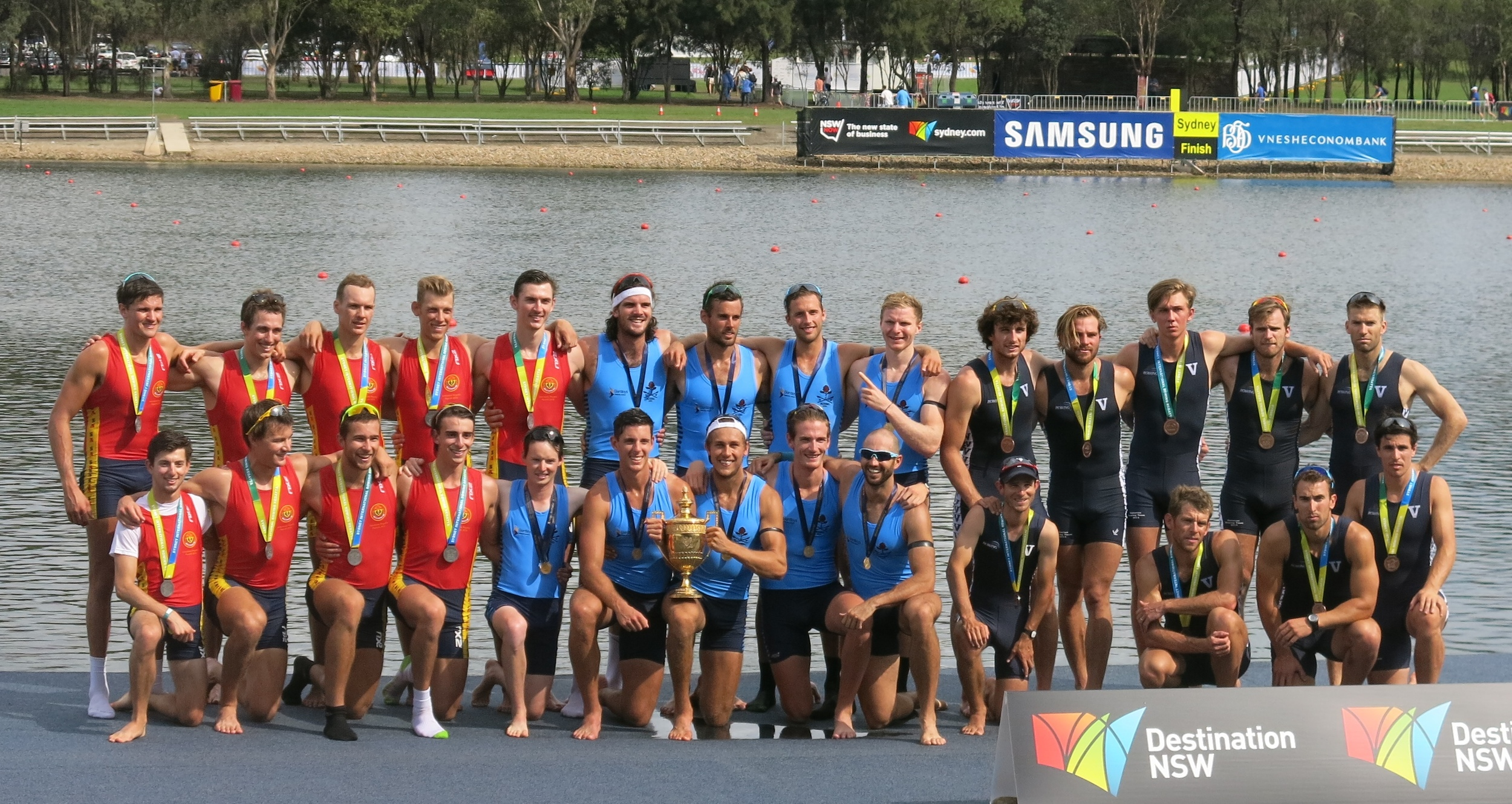 NSW, SA and Victoria on podium 2014 King's Cup