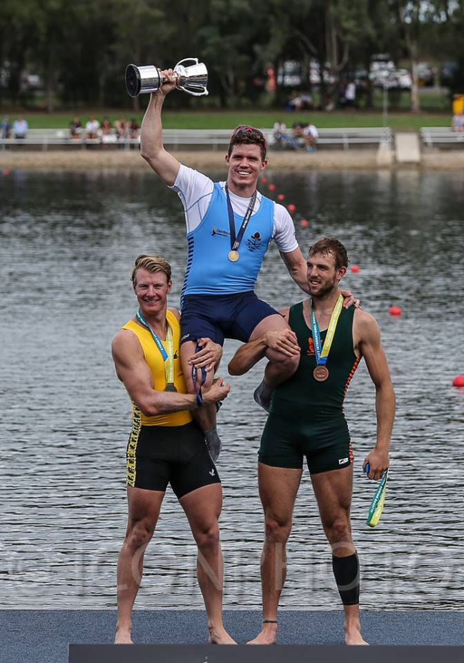 Sasha Belonogoff 2014 Men's Interate Single Scull Champion