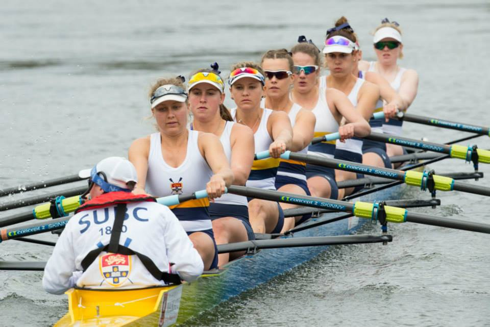 SUBC Women racing Gallagher
