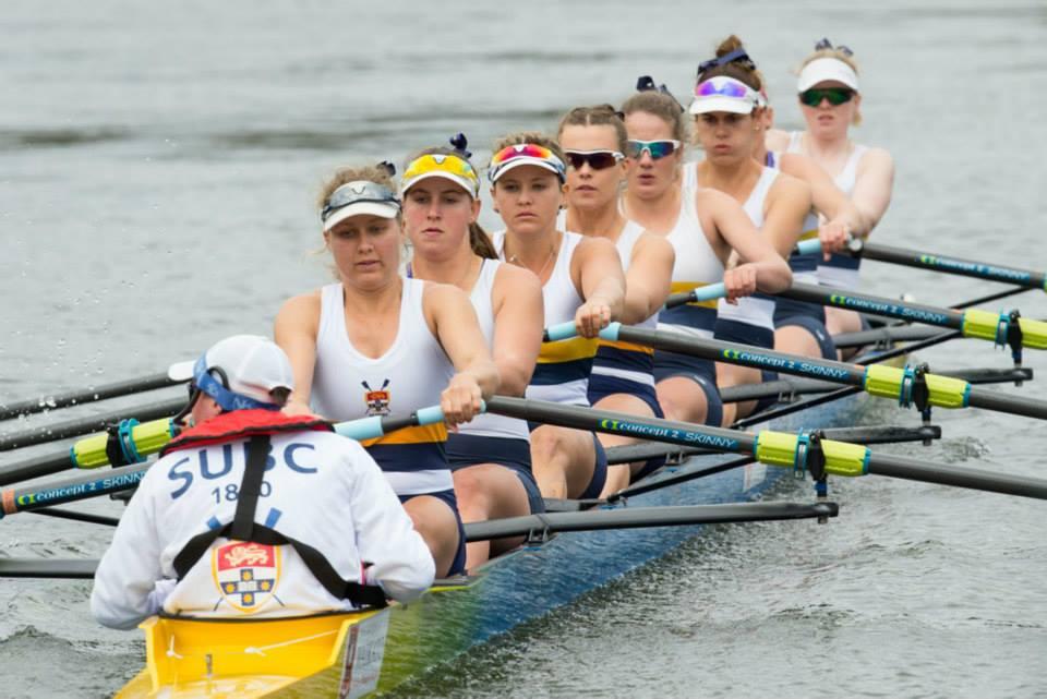 SUBC Women racing Gallagher