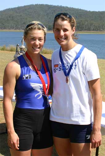 Kell wininer 2007 Uni Champs single scull