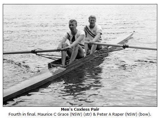 Maurie and Peter Raper 1956