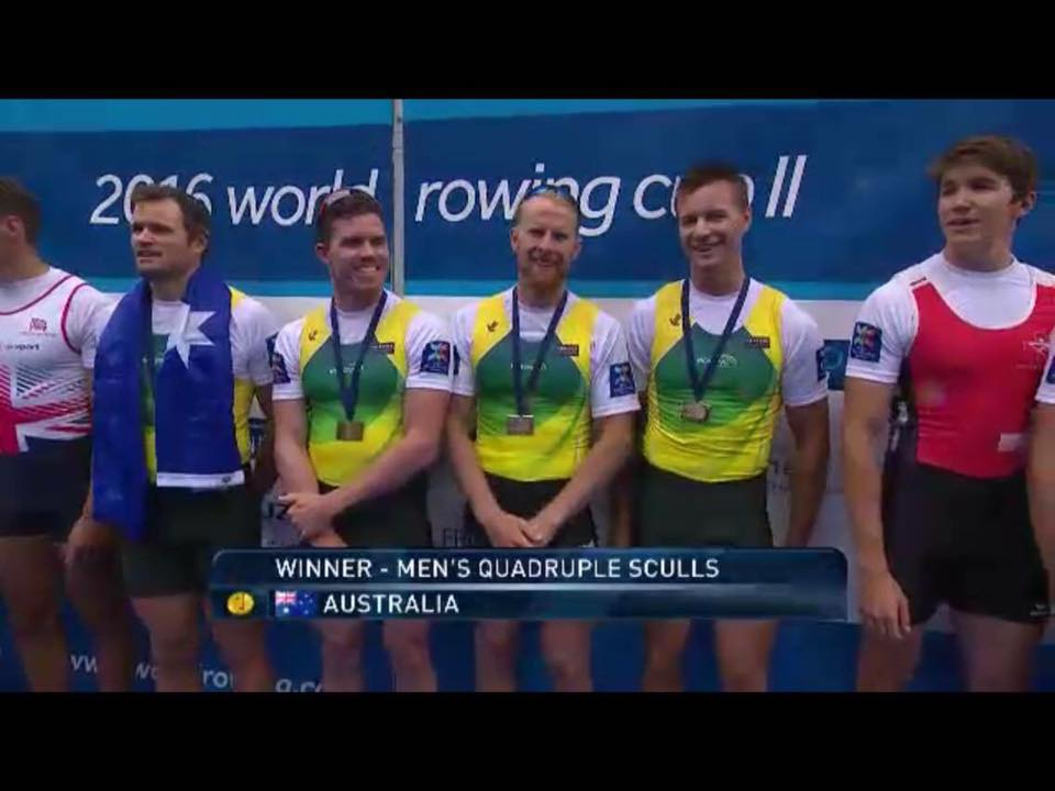 Men Quad Podium - Gold
