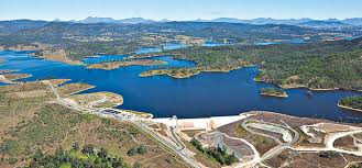 Wyaralong Dam - site of rowing competition for the 2017 Australian Uni Games