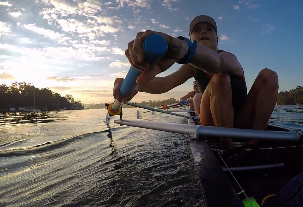 Rafaela Stalph training at SUBC for the U23 Women's Four 2017