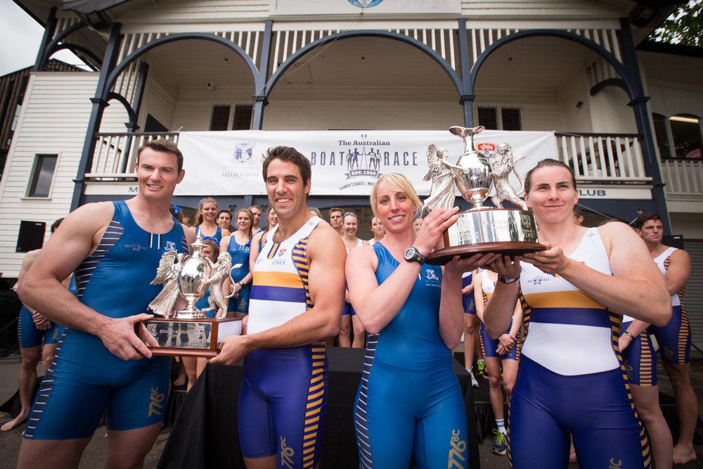 The Australian Boat Race Annual Challenge - Sydney Uni v Melbourne Uni