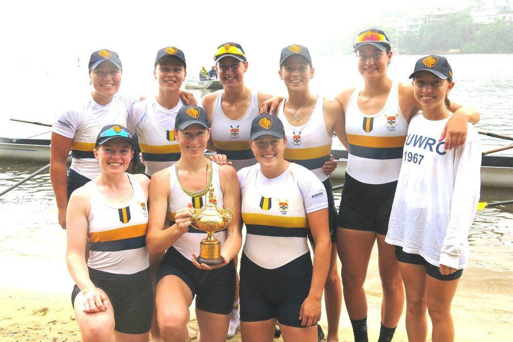The Sydney Uni Women's Eight managed to win the new cup in 2017