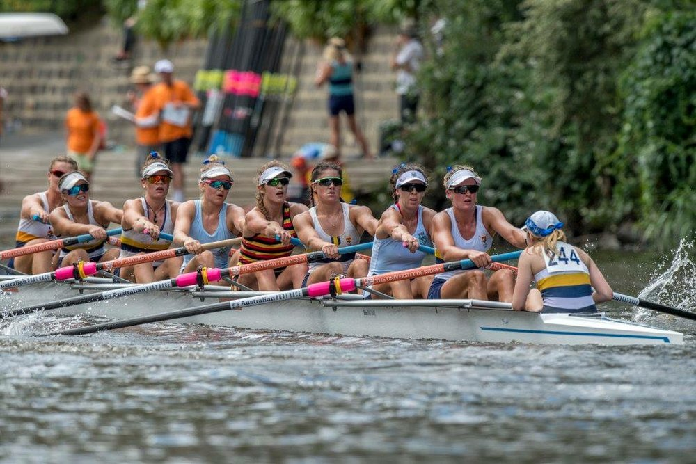 Women's Eight, Photo Credit: Rowing Celebrations
