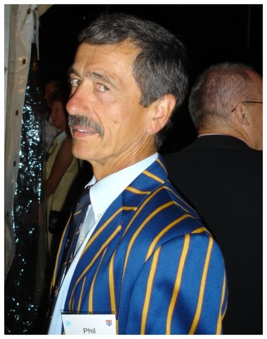 Phil Titterton 1966 SUBC Blue, Masters Rower, Coach, Volunteer