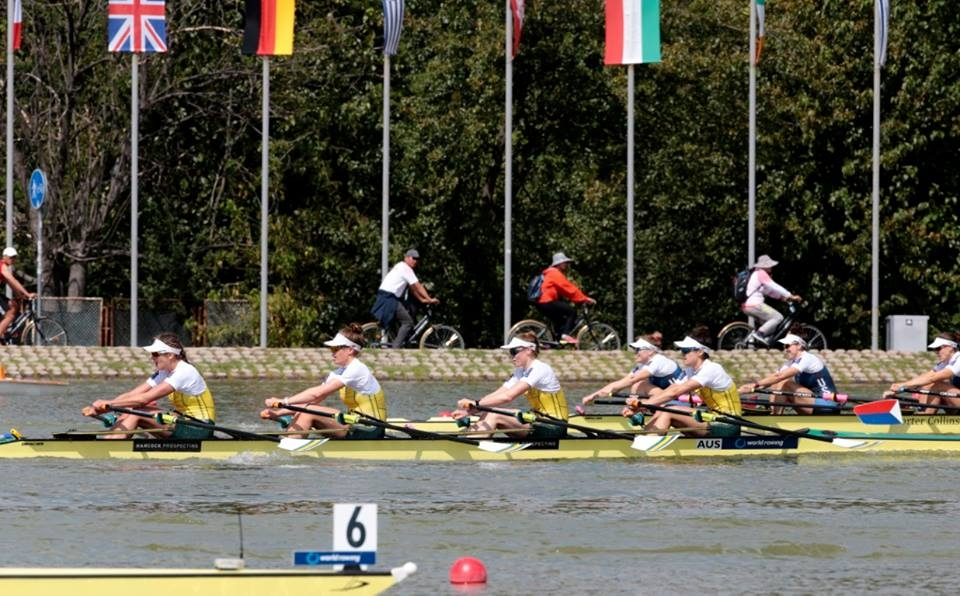 Australian Women's Quad at 2018 World Championships