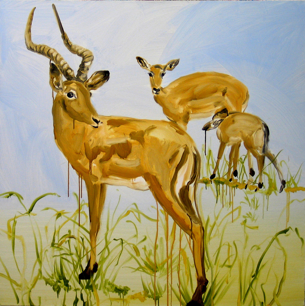 Untitled (Deer's Family)