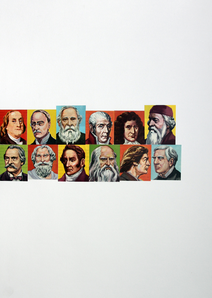 12 Encyclopedian Portraits