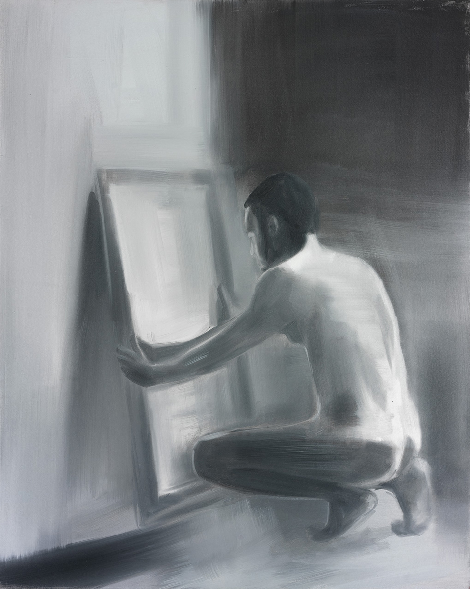 Man in front of a Mirror