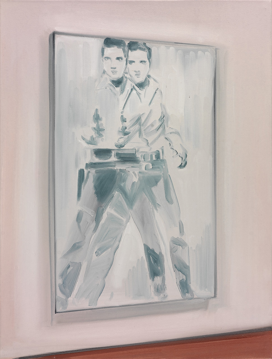 Display I (Warhol's Double Elvis)