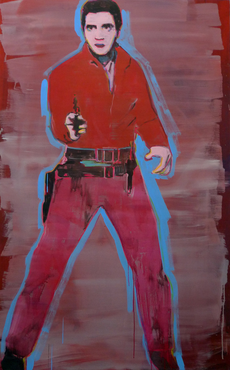 Untitled (Elvis, Single, Color)