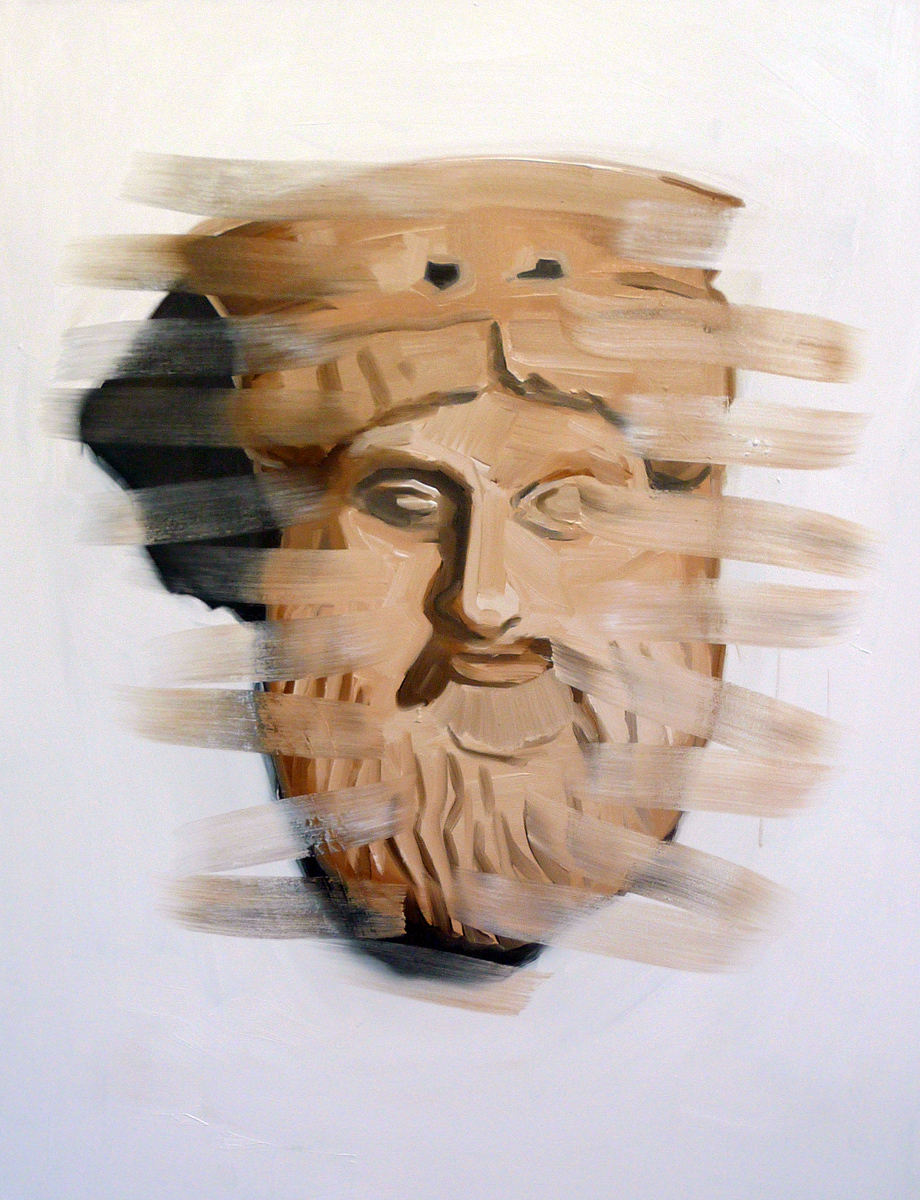 Untitled (Dionysos Head)