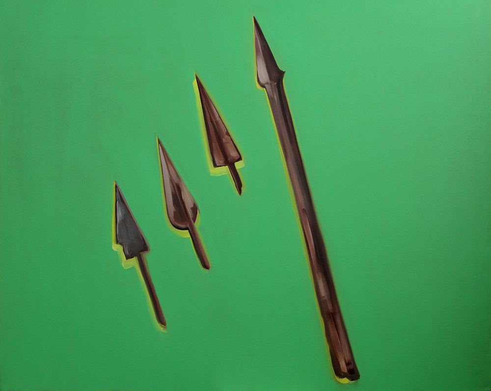 Untitled (Arrow Heads)
