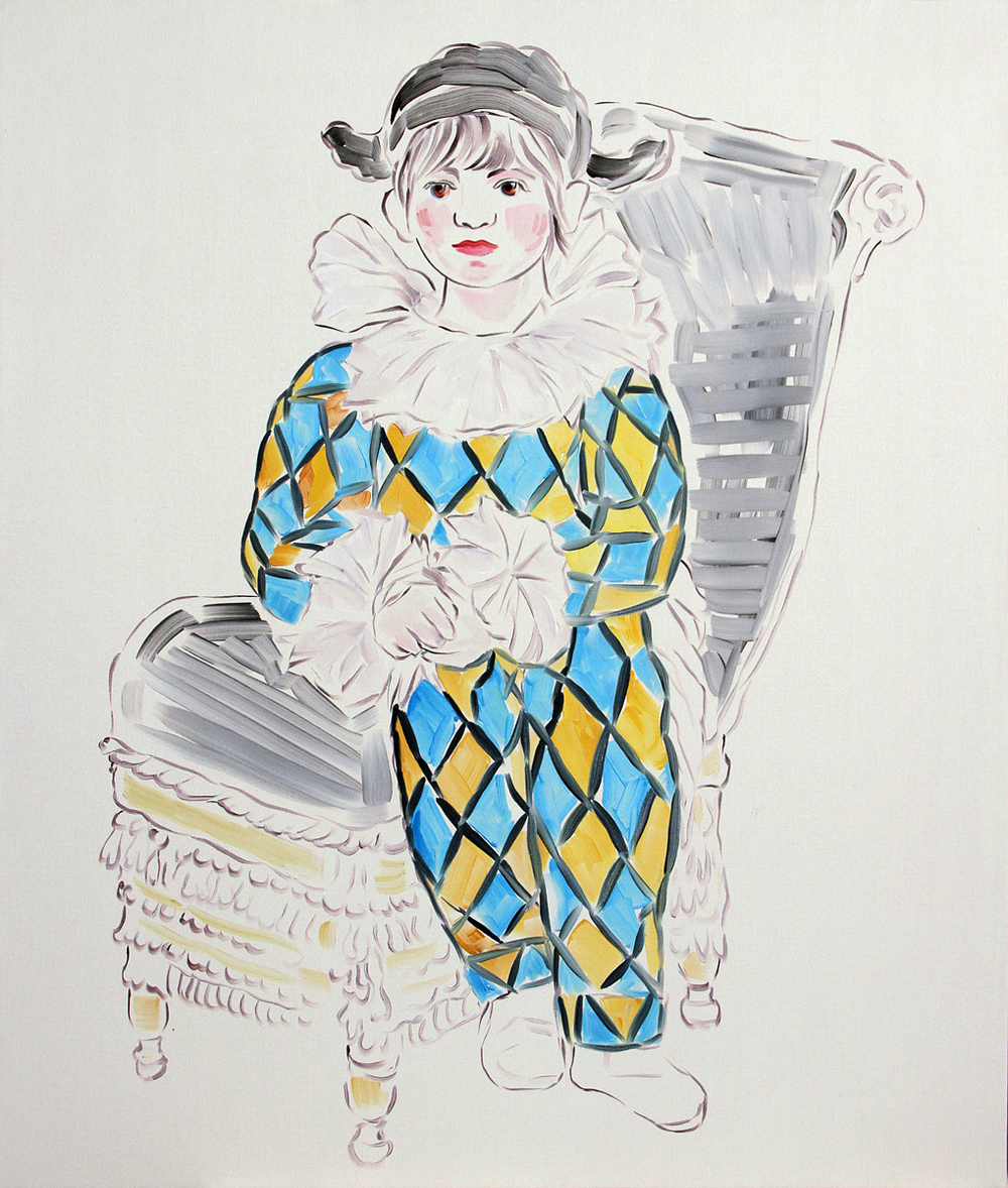 Untitled (Picasso's Harlequin)
