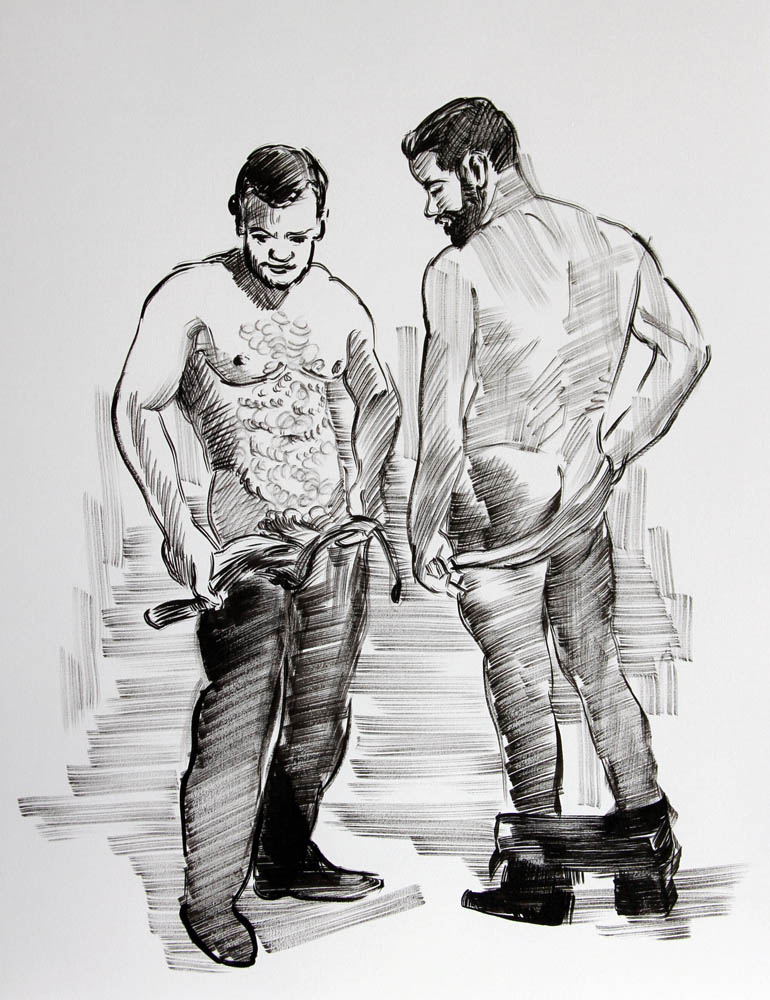 (Two Men)