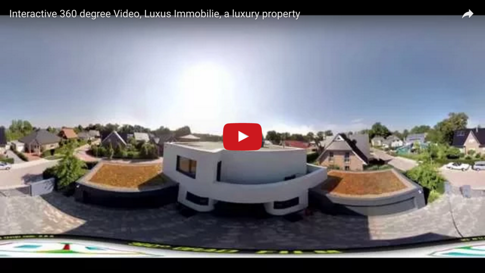 Interactive 360 Video, Luxus Immobilie, Luxury Property