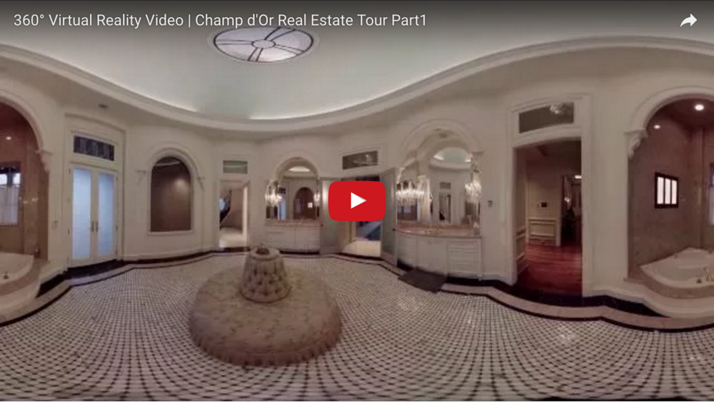 360 Virtual Reality Video | Champ d'Or Real Estate