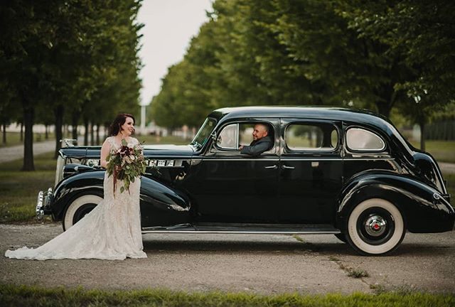 The dress. The flowers. The car. The people. take me back!!! @tbfloral @packardweddings #happilyeverthehoods #NovaRosePhotography #sterlingheightsphotographer #michiganweddingphotographer #weddingphotographer #detroitphotographer #theknot #michigan #photographybusiness #instagood #gorgeouscouple #michiganphotographer #michiganwedding #sunset #reflection #kiss #goldenhour #bestof #puremichigan #wed #creative #sterlingheightsweddingphotographer #militarywedding #packardprovinggrounds #packardprovinggroundswedding #beautifulflorals #bridalbouquet
