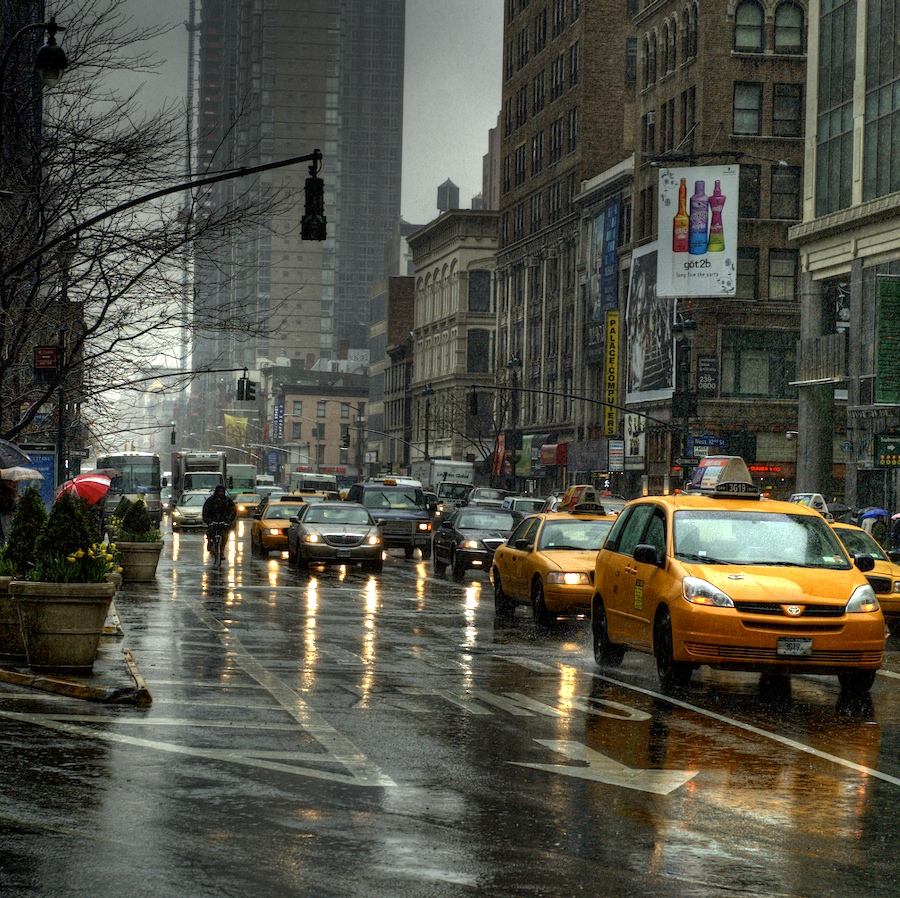 Rain: New York City