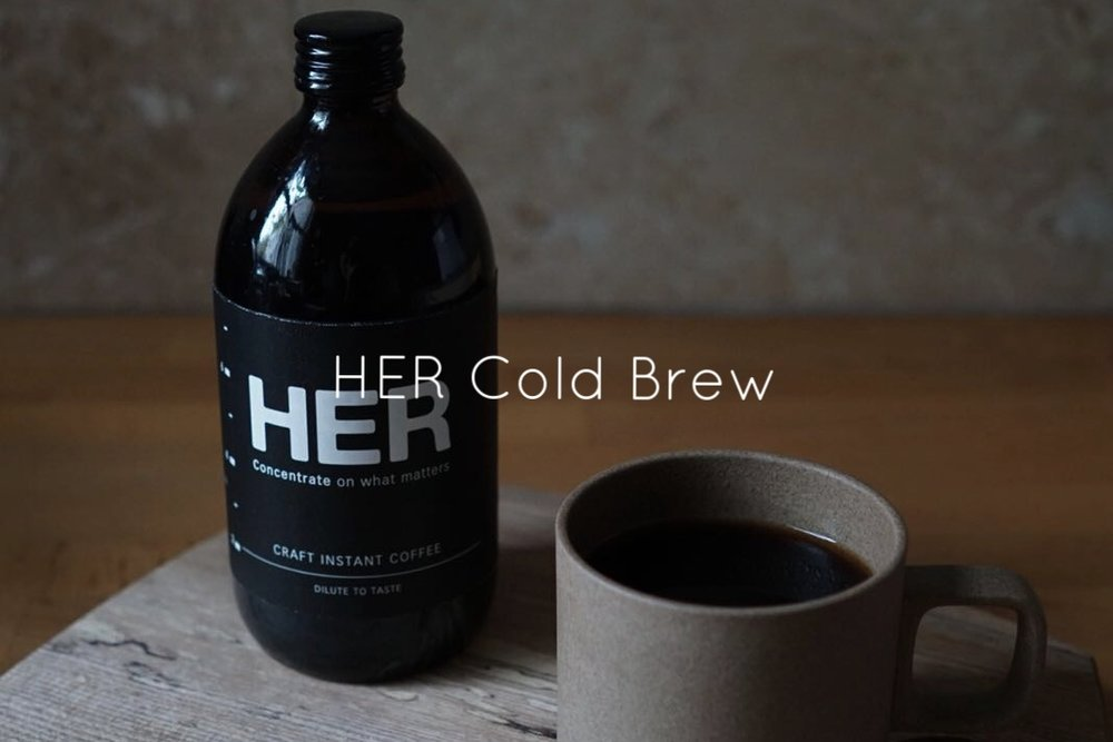HER COLD BREW COFFEE CONCENTRATE