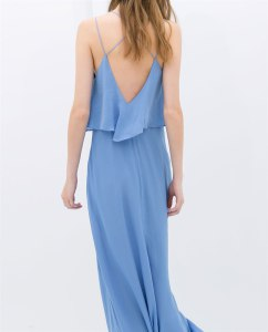 Long Dress with Low Back