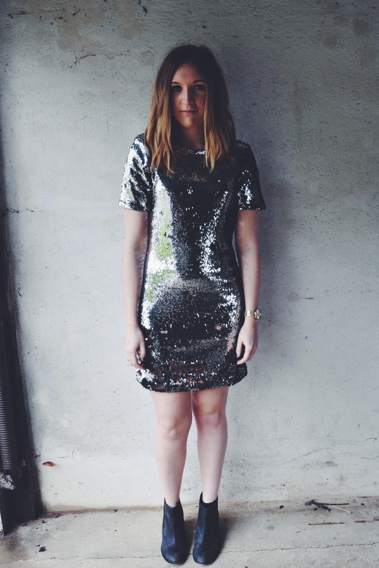 fashion, model, party dress, christmas dress, topshop dress, sparkle