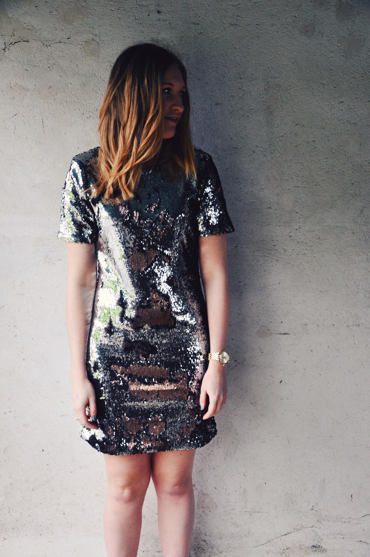 dress, sequin dress, party dress, going out dress, fashion