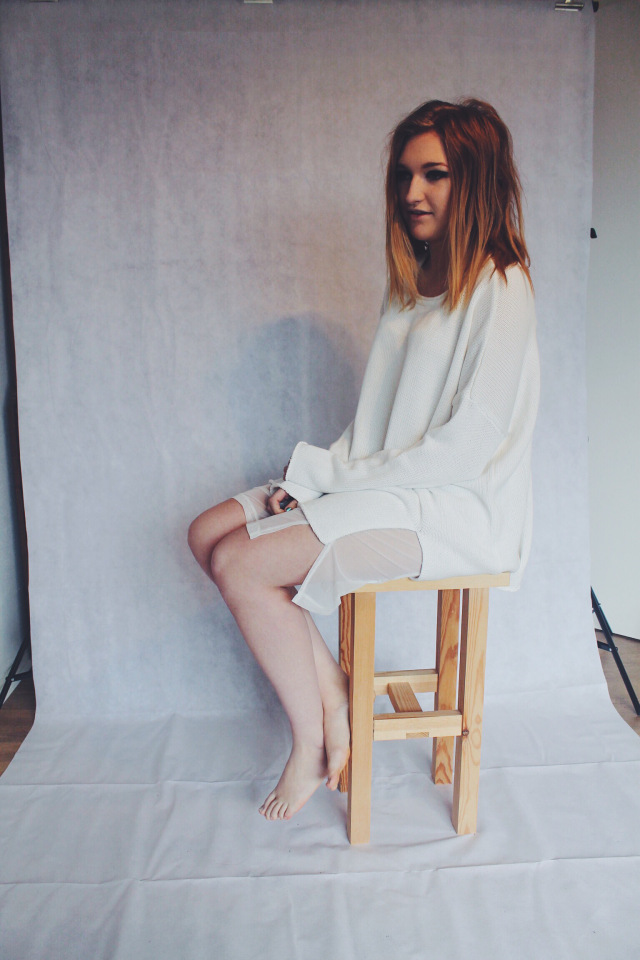 ivory dress, defineadream, urban outfitters, fashion, day dress, party dress