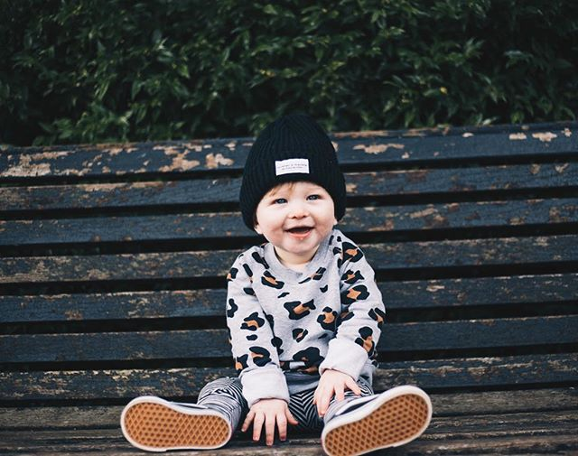 Someone get this kid a modelling contract already..I literally can't handle how cute he is?!!! Although..cliche..he's growing way too quickly. Like, WAYYYYY to quickly. Thank you @shootanglez for the ridiculously cute photos today! Don't worry Instagram, I shall be spamming you with them all for a good few days 🖤 | hat @west_stanton jumper @beau_hudson @lilyandfred leggings @mingokids @bon_tot shoes @vans